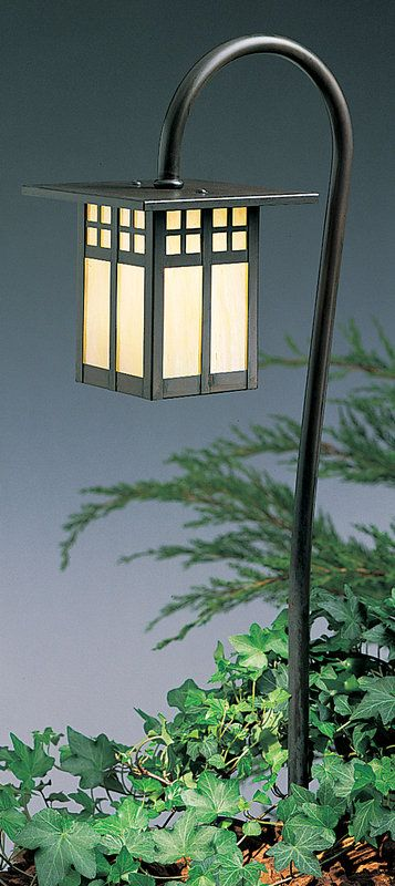 View the Arroyo Craftsman LV27-G6 12v Craftsman / Mission Path Light Landscape Fixture from the Glasgow Collection at LightingDirect.com.