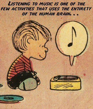 It's true- listening to music/music making is one of the only activities that uses every part of the brain!