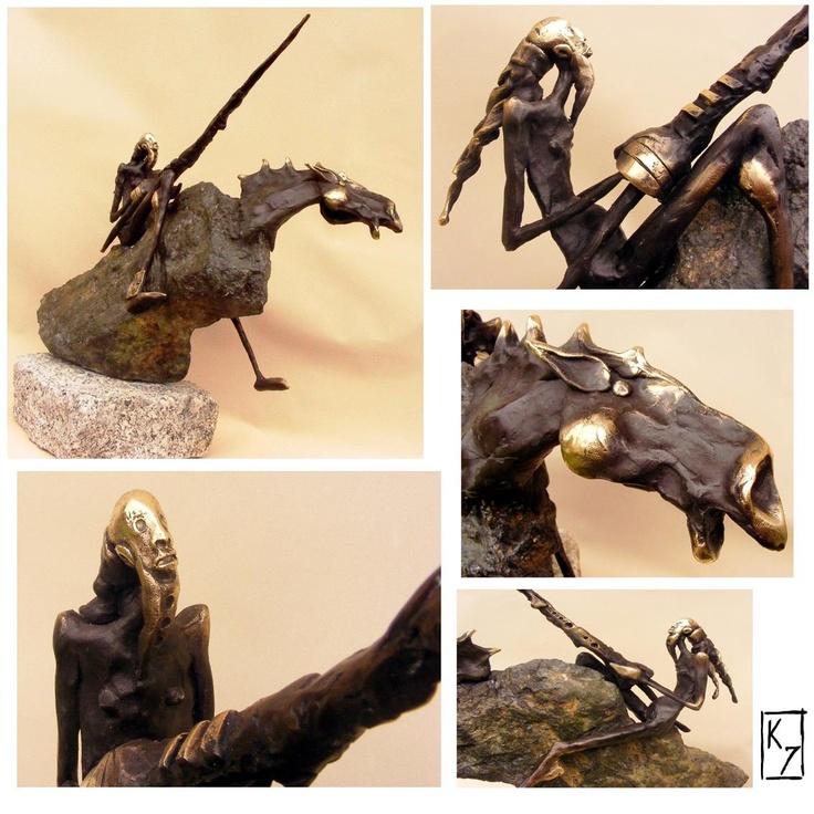 Sculpture Don Kichot 2011