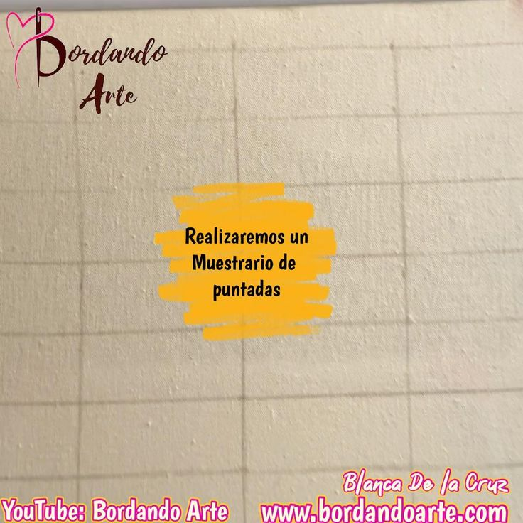 Quédate en casa en esta cuarentena, bordaremos un muestrario de bordado de puntadas diferentes. Embroidery Stitches Tutorial, Hand Embroidery, Needlepoint, Needlework, Arts And Crafts, Sewing, Crochet, How To Make, Pattern