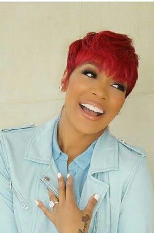 Monica Singer Short Red Hair Hairlicious Short Red