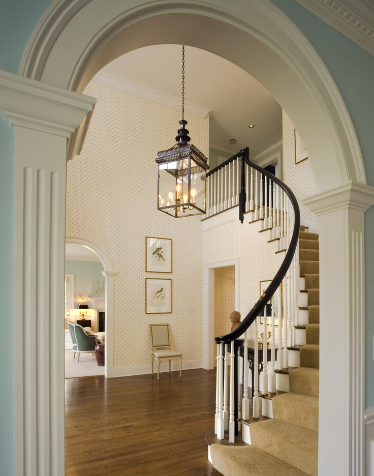 25 best ideas about curved staircase on pinterest grand staircase grand entryway and. Black Bedroom Furniture Sets. Home Design Ideas