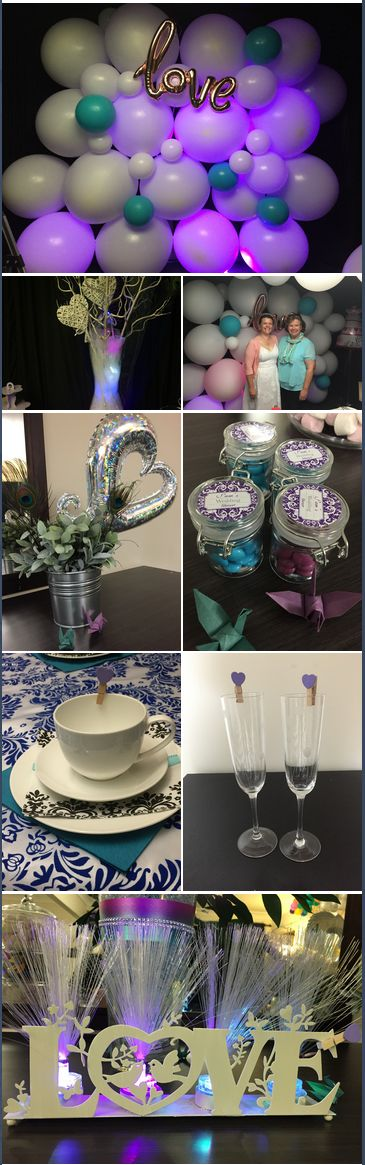 It was a pleasure to host and decorate this wedding shower for Sam. We wish Sam and James every happiness!