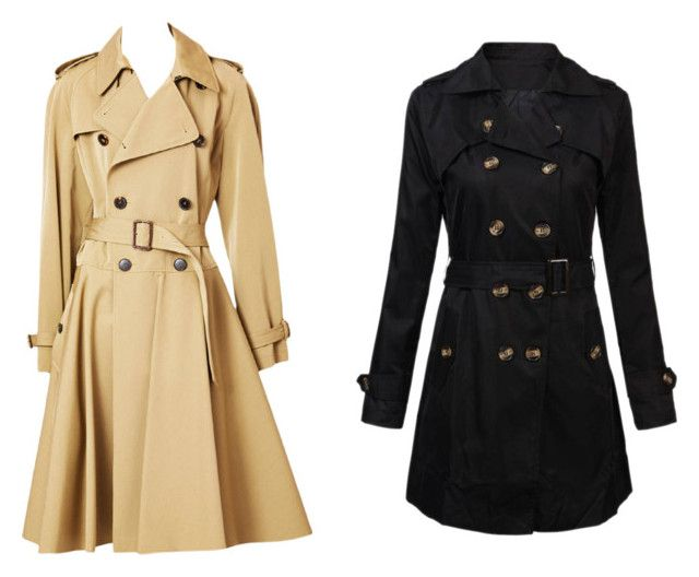 """trench"" by izabelamisztal on Polyvore featuring moda i Jean-Paul Gaultier"
