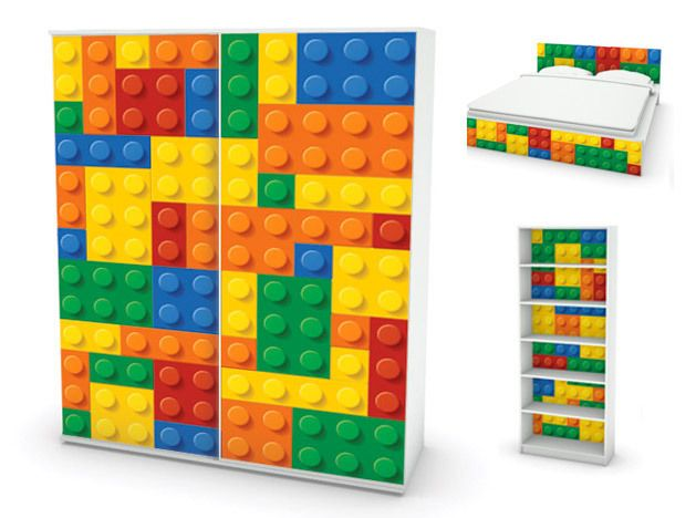 M s de 10 ideas incre bles sobre muebles de lego en for Muebles lego