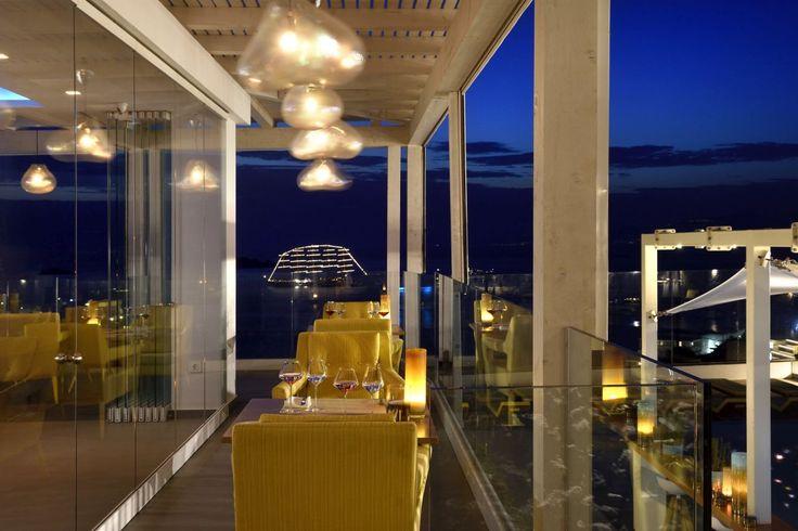 Pairing luxury surroundings with the Relais et Châteaux Haute cuisine legacy! #Discover #MyconianKorali #Lifestyle #Imagine