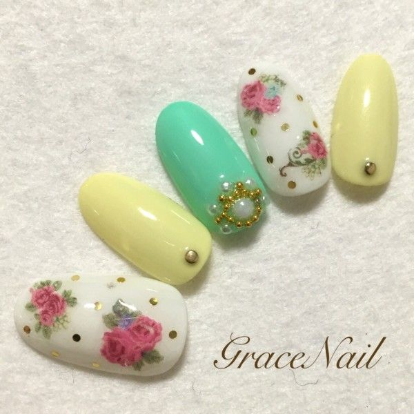 http://nailplus.me/mode/pics/detail/9cvN7 #ネイル #ネイルデザイン #ネイルアート #nail #nailist #nailart #春ネイル