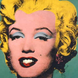 Famous Portrait Paintings Maralin Monroe
