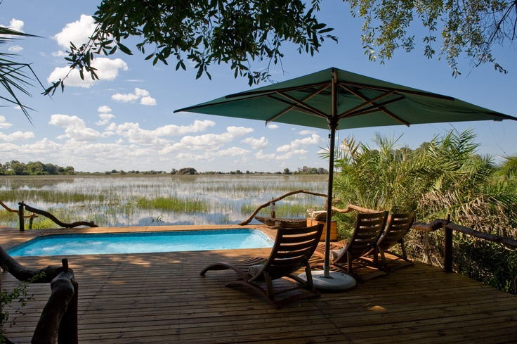 Named for the beautiful 'lily trotter' bird, Jacana is a true water camp enjoying exceptional seclusion on a small island in the Jao Concession, Okavango Delta, Botswana.