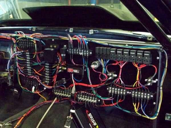 9bf81f4fbc42fb35599f258d0f1e26e1 153 best automotive electrical images on pinterest car, car Stock Car Racing Wiring Diagrams at gsmx.co