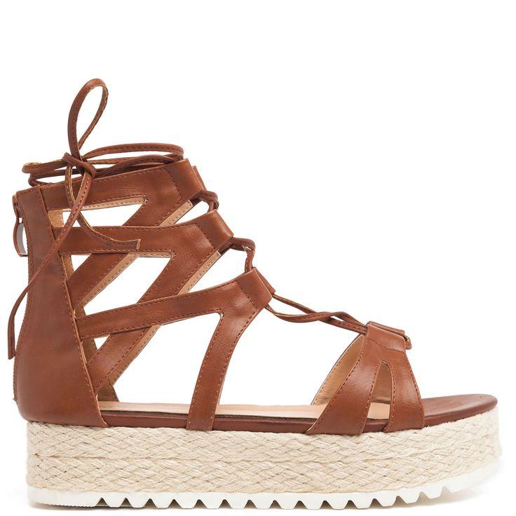 Brown #gladiator #flatform