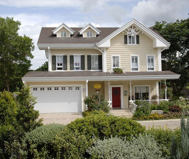 30 best images about two story house plans on pinterest for Craftsman model homes