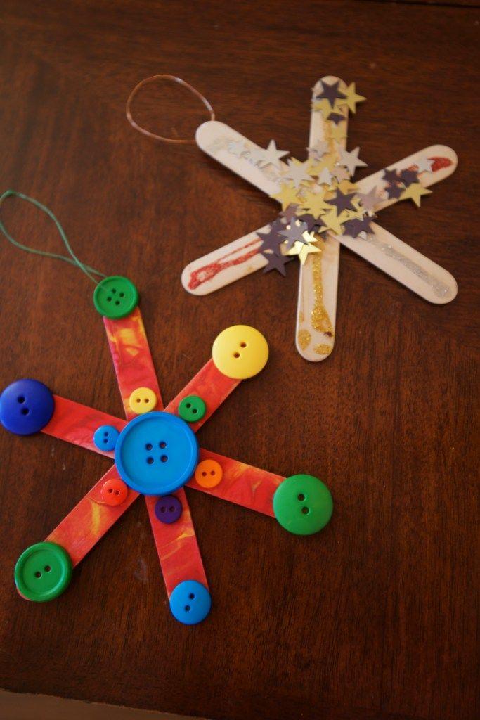 Snowflakes Craft Pinterest