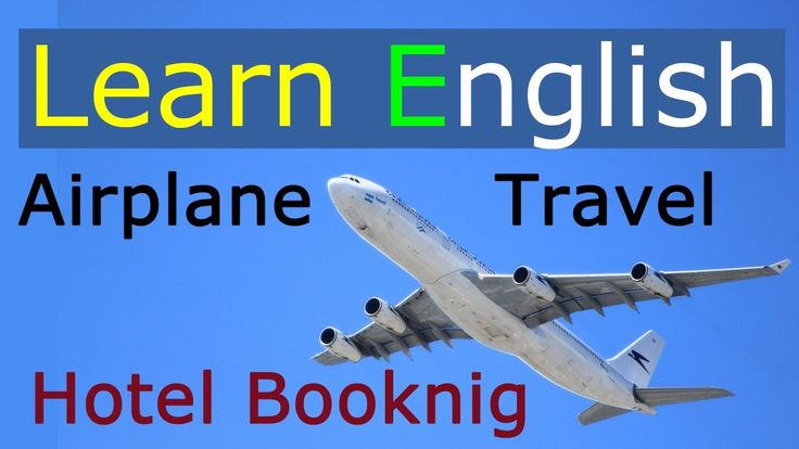 English for travel - at the airport & hotel reservation | Learn English ...