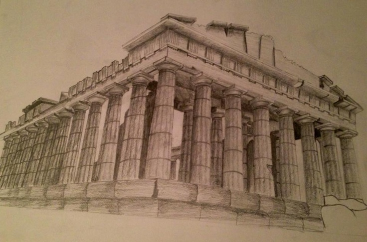Parthenon (Greece) | Drawings | Pinterest | Greece and ...
