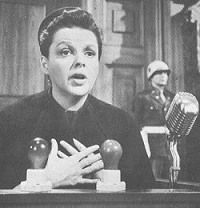 "Judy Garland as Irene Hoffman in ""Judgment at Nuremberg"""