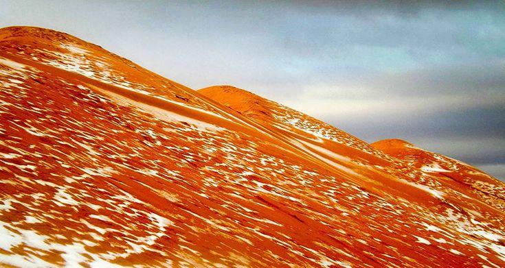 De la neige dans le Sahara pour la première fois depuis 37 ans - 2Tout2Rien