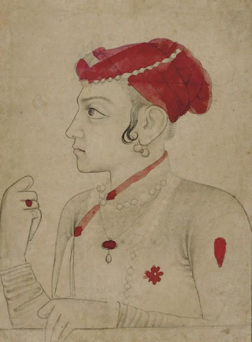 Sulaiman Shikoh, a son of Dara Shikoh; Mughal period, later 1600's