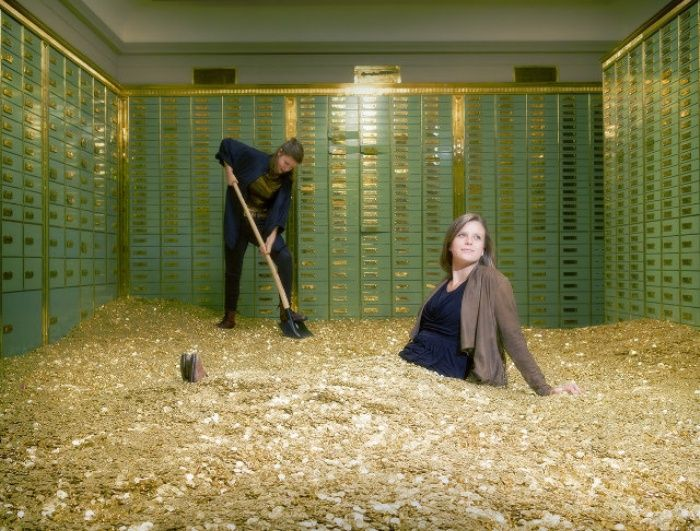 Actual Swiss Bank Vault for Sale, Comes With 8 Million Coins