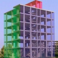 Maik und Dirk Löbbert, Glashaus, 2005, Farbfotografie, digital überarbeitet