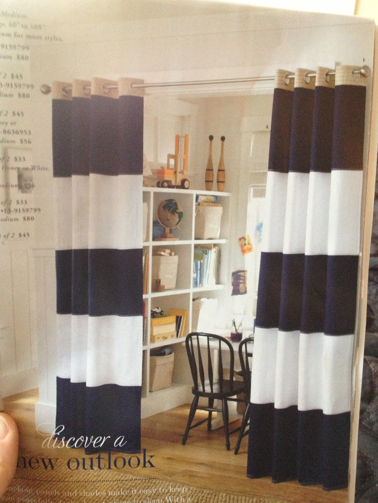 curtains instead of closet doors home pinterest. Black Bedroom Furniture Sets. Home Design Ideas