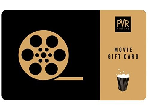 PVR Cinemas Rs. 500 Gift Voucher at 10% off
