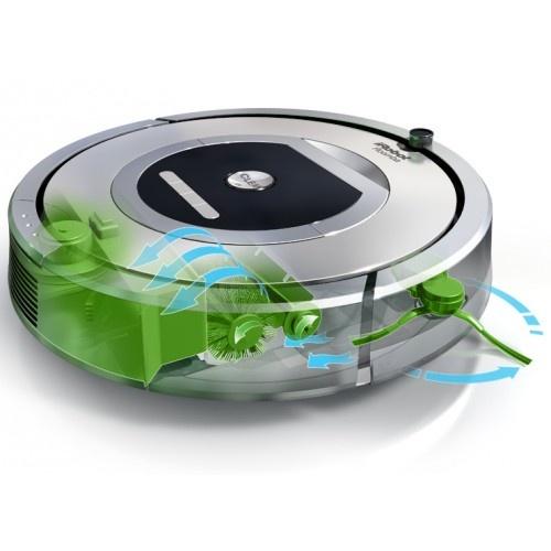 iRobot - Roomba 780 für 649,99 € (Saugroboter der neuen 700er-Reihe, der über ein TouchPad bedient wird, durch 2 Virtual Wall-Lighthouses im Raum eingeschränkt werden kann und anzeigt, wenn der Auffangbehälter voll ist)
