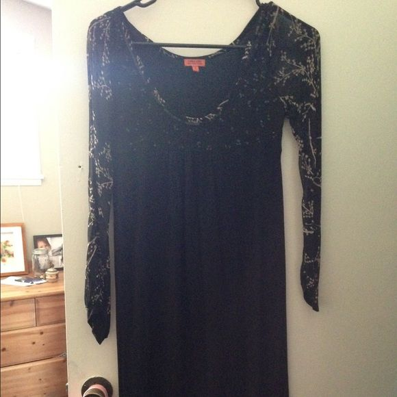 Lightly used Chan Luu knee length black dress No spots or tares. Great condition! Chan Luu Dresses