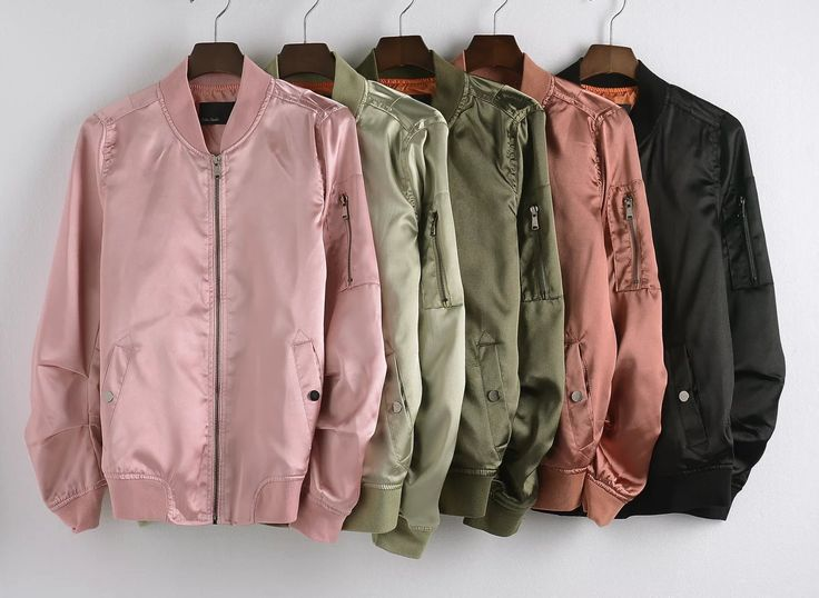 Material: Silk Decoration: Zippers Sleeve Length: Full Clothing Length: Regular…