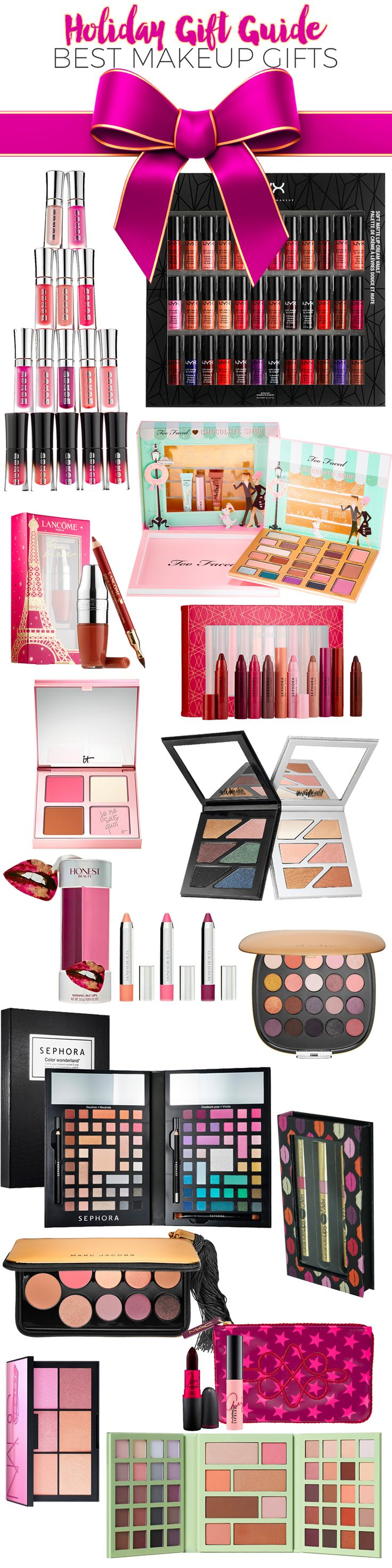 Holiday Gift Guide 2016: Best Makeup Gifts