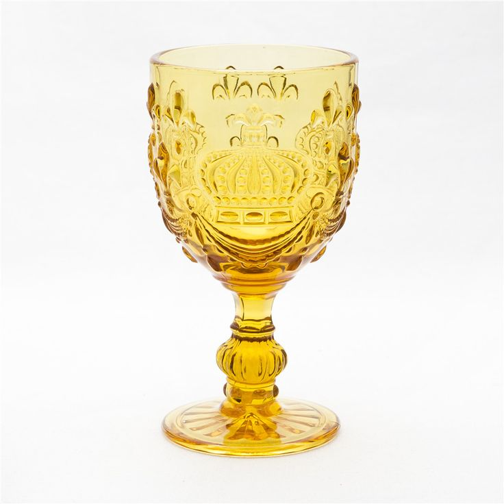 Small Size Home Use Crown Series Wine Glass