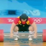 Matthias Steiner promised his wife a gold medal in the 2008 Olympics. She passed away a year before the games - GIF on Imgur