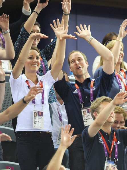 Kate Middleton and Prince William Photo - Olympics - Day 6 - Royals at the Olympics