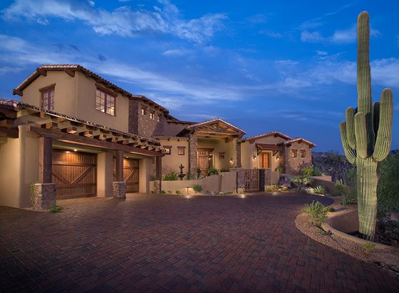 South west style homes rustic southwest ranch never goes for Adobe home builders