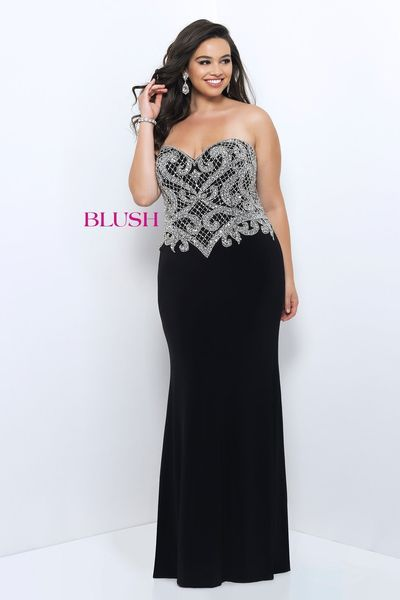 Cheap plus size military ball dresses
