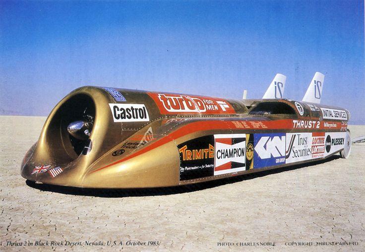 thrust 2 land speed record random vehicles i like or