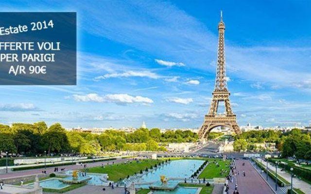 Offerte voli per Parigi - Estate 2014 #offertevoli #parigi #volilowcost
