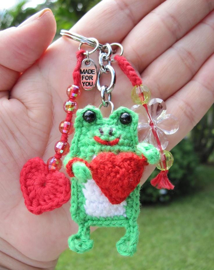 116 best Crochet keychains images on Pinterest   Crochet keychain ...
