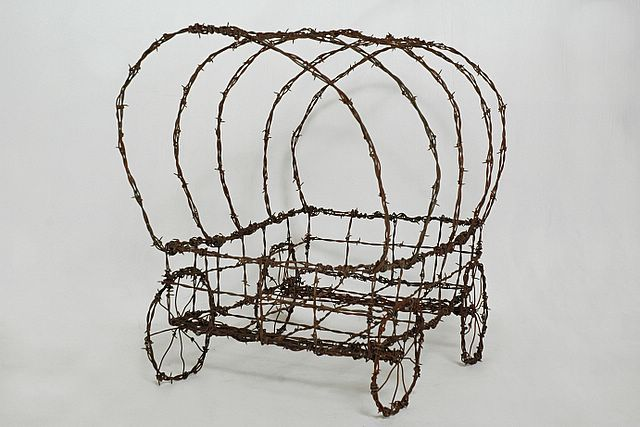 172 best barbed wire crafts images on Pinterest | Barbed wire ...