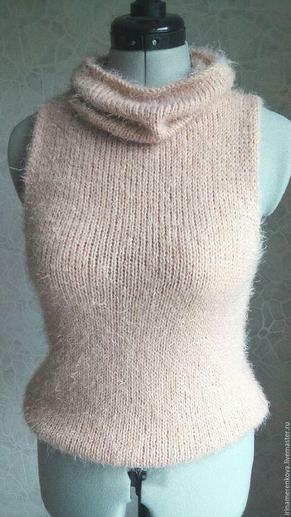 Кофты и свитера ручной работы. Жилет вязаный Принцесса эльфов пуловер без…