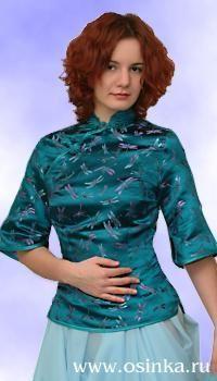 # 04_03. Пошив блузки в китайском стиле. Мастер-класс.