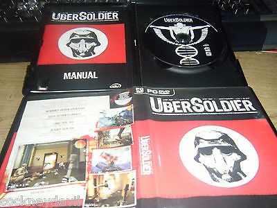 Ubersoldier   rare cult game ORIGINAL full VGC PC fast free UKpost
