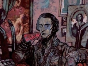 Chopin New Romantic - comic book