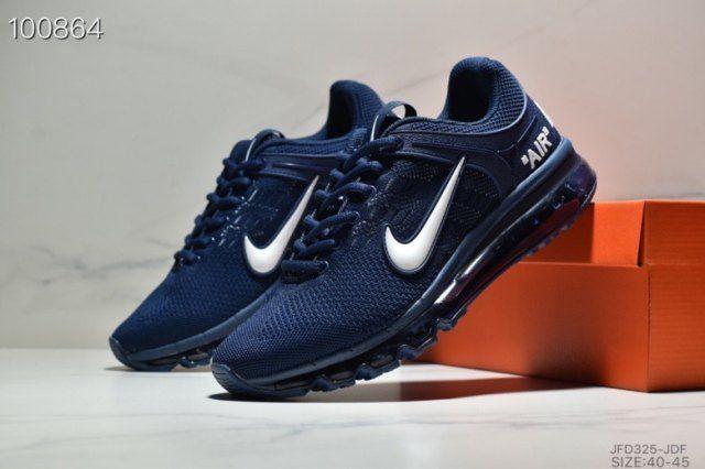 Nike Air Max 2019 Bule Sneakers Men's Running Shoes | Nike ...