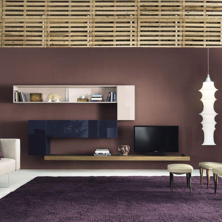living room wall cabinets built%0A Highend Italian   e  Modular Wall Unit Comp        Modern Italian  Designer  u