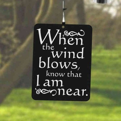 Memories Wind Chimes   Sympathy Gift   Funeral Gifts