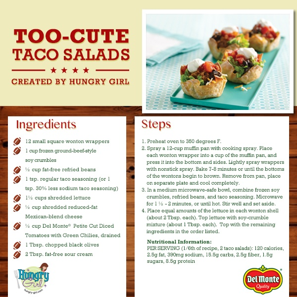 This Hungry Girl recipe brings flavor and fun to your table with Del Monte tomatoes!