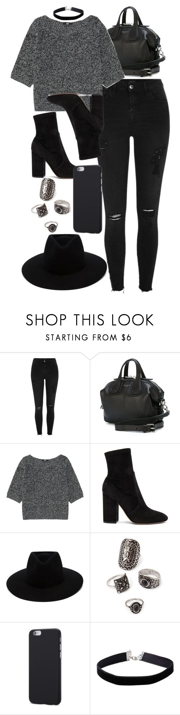"""""""Style #11533"""" by vany-alvarado ❤ liked on Polyvore featuring River Island, Givenchy, Uniqlo, Valentino, rag & bone, Forever 21 and Miss Selfridge"""