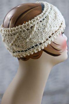 Arrow Design Headband | AllFreeKnitting.com