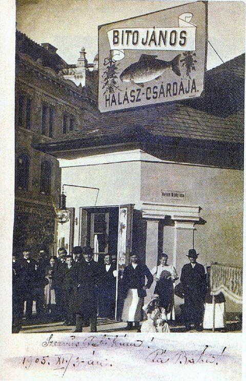 Takaréktár u és Horváth M. u sarok, Vasalóház helyén.